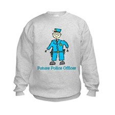Future Police Officer (boy) Sweatshirt