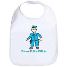 Future Police Officer (boy) Bib