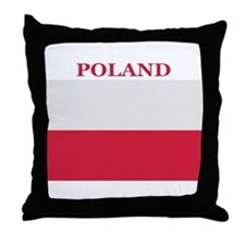 Poland Products Throw Pillow