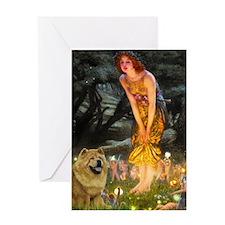 Fairies / Chow #1 Greeting Card