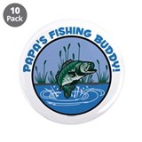"PAPA'S FISHING BUDDY! 3.5"" Button (10 pack)"