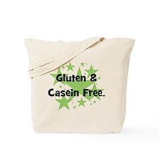 Gluten & Casein Free - stars Tote Bag