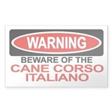 CANE CORSO ITALIANO Rectangle Decal