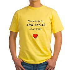 Somebody in ARKANSAS loves yo T