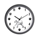 Irish Terrier Wall Clock