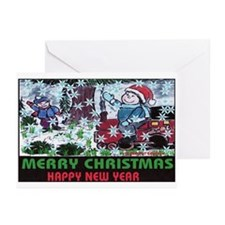 Welcome Christmas Everybody Greeting Cards (Pk of