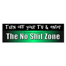 Turn off you TV - Bumper Bumper Sticker