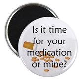Medication Time Magnet