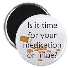Medication Time Magnet