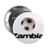 "Zambia soccer 2.25"" Button (10 pack)"