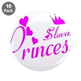 "Slovak Princess 3.5"" Button (10 pack)"