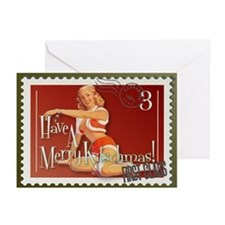 Merry Kitschmas Stamp Greeting Cards (Pk of 10)