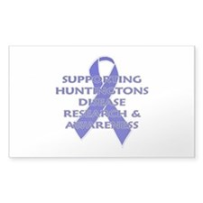 ...Huntingtons... Rectangle Decal