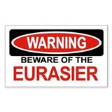 EURASIER Rectangle Bumper Stickers