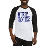 MUSIC is HEALING Baseball Jersey