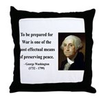 George Washington 15 Throw Pillow