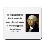 George Washington 15 Mousepad