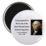 George Washington 15 Magnet
