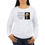 George Washington 15 Women's Long Sleeve T-Shirt