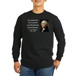 George Washington 15 Long Sleeve Dark T-Shirt