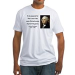 George Washington 15 Fitted T-Shirt