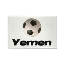 Yemen soccer Rectangle Magnet (10 pack)
