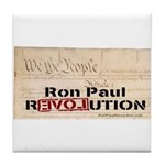 Ron Paul Preamble-C Tile Coaster
