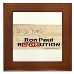 Ron Paul Preamble-C Framed Tile