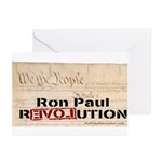 Ron Paul Preamble-C Greeting Cards (Pk of 10)