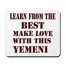 Make love with this Yemeni Mousepad