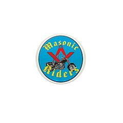 Masons who ride Mini Button (10 pack)