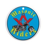 Masons who ride Ornament (Round)