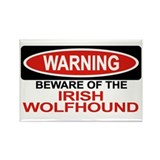 IRISH WOLFHOUND Rectangle Magnet (10 pack)