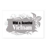 Funny Vietnam map Postcards (Package of 8)