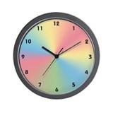 Pastel Wall Clock