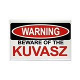 KUVASZ Rectangle Magnet (10 pack)