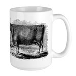 "Devon Cow ""Birthday"" - large mug"