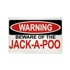 JACK-A-POO Rectangle Magnet (100 pack)