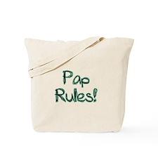 Pap Rules! Tote Bag