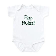 Pap Rules! Onesie