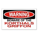 KORTHALS GRIFFON Rectangle Decal