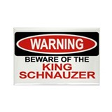 KING SCHNAUZER Rectangle Magnet (100 pack)