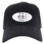 Our First Chanukah 2007 Black Cap