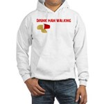 Drunk Man Walking Hooded Sweatshirt