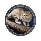 SandCat Wall Clock