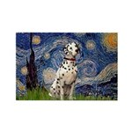 Starry /Dalmatian Rectangle Magnet