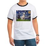 Starry /Dalmatian Ringer T