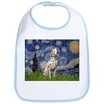 Starry /Dalmatian Bib