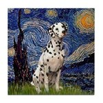 Starry /Dalmatian Tile Coaster