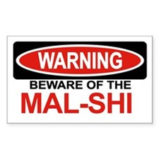 MAL-SHI Rectangle Decal